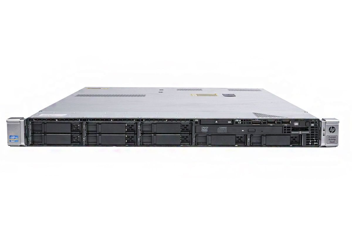 HP DL360 G8 8bay